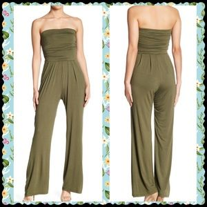Pants - READY SET JUMP(SUIT) YOU WILL OLIVE IT